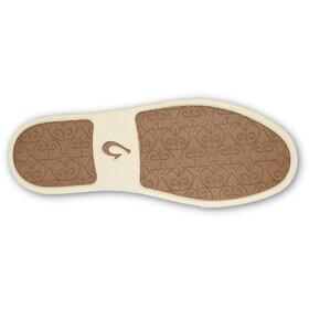 OluKai Pehuea Leather Shoes Dame bronze/dark java